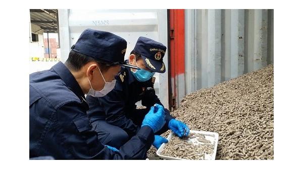 转载:海关快验泰国木薯颗粒进口报关助复工