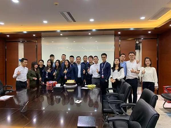 鹏通深圳业务中心一周年庆