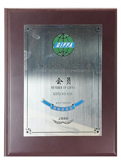 鹏通-广东国际货运代理协会理事单位