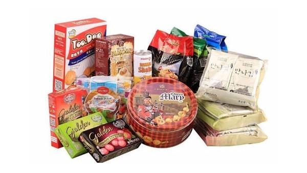 日本休闲零食|韩国泡面零食|食品进口报关流程
