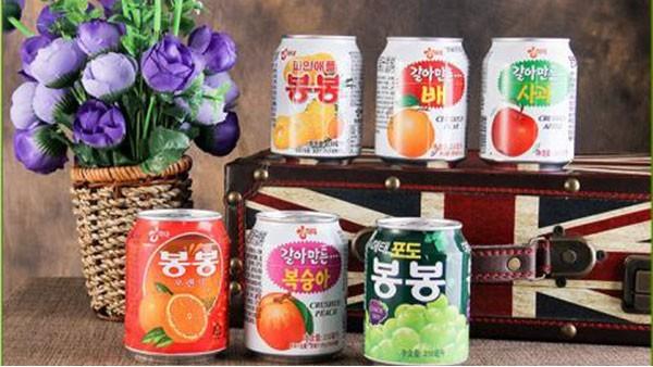 韩国果汁进口报关各种饮料的关税分别是多少?
