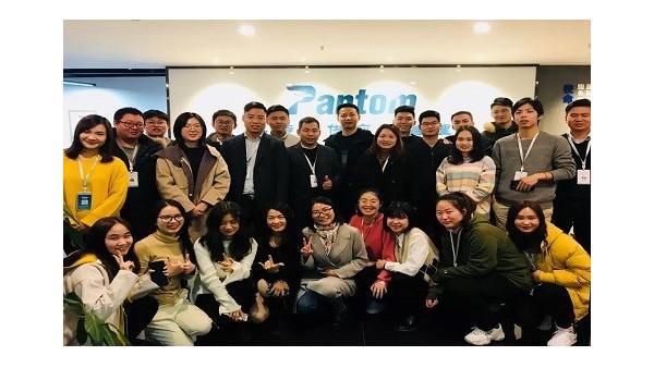 鹏通上海进口报关公司年终总结大会