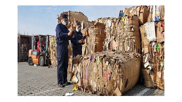 请依法进口纸产品报关!太仓退运九百吨废纸