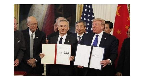 中美第一阶段经贸协议:税率从15%降至7.5%